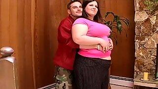 Giant sucking woman plumper ass super size 1