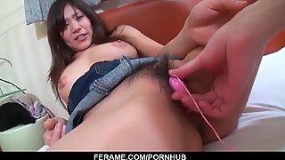 Big boobs Yukari wants cock in each of her greedy holes