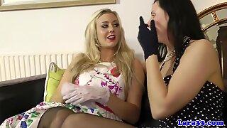 Classy British Lesbians Eating Pussy - Laras Playground