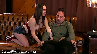 giddy Teen Step Daughter luvs It When mommy Isn?t Home