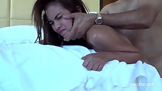 Thai Whore porked cruelly up the donk