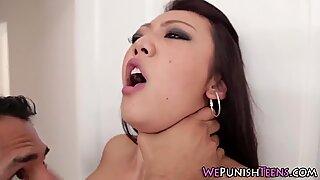 Fetish asian gets facial