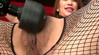 Cute bunny Yuu Kusunoki teases her fuck buddy with her sexy body and ends up being used by two...