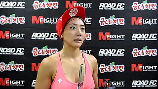 Pretty mma fighter interview