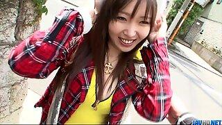 Beautiful Haruka Oosawa gets a rear fuck! - More at javhd.net - Pink Pussy