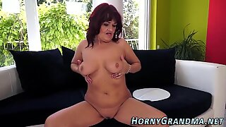 Plowed cougar mouthful