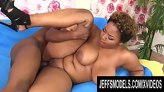 Chubby Black Nympho Gabbie Sin Cant Get Enough of His BBC