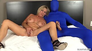 Milf Loves Tweaking Muff Stroking Big Cocks