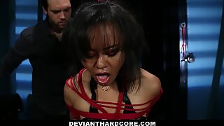 DeviantHardcore - Submissive Asian Spanked and Demeaned