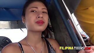 Yassi is doggystyled hard and deep by horny tourists big fat cock