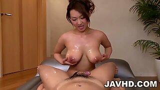 Marin koyanagi payudara besar cantik menunjukkan di pov