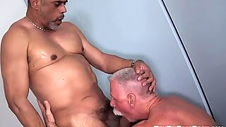 Buttfucking polar bear pleasures his lover