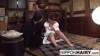 Cute Asian babe gets caught masturbating