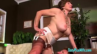 Young Cock deep throated Off By granny milf
