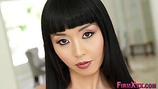 Very nice cute asian girl nude posing and hard fucking