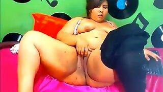 Fat webcam slut