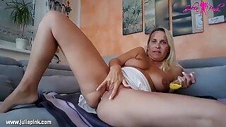 Julia Pink -  Banana pussy