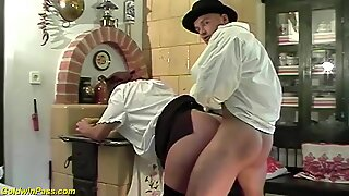 Red bush moms first rough anal sex