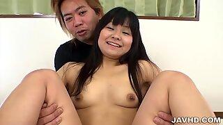Several dicks for Satomi Miyazaki to swallow well