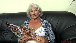 Horny euro granny porn casting