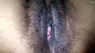 Hairy pussy Indian wife