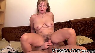 YOUNG MAN ENJOYS WITH OLD GRANNY !!