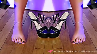 Foot Fetish - Arty video - French Domina - Vends-ta-culotte