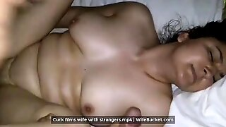 Cuck husband films his wife being fucked by strangers