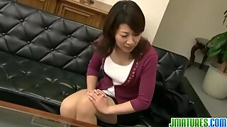 Busty milf drilled at the office