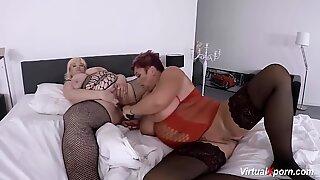 extreme mature lesbian bbw sex