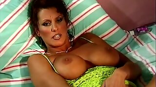 Sexy Housewife Alone And Masturbating