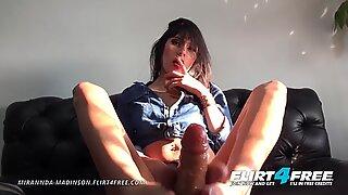 Flirt4Free - Mirannda Madinson - Hot Hard Body Latina w Dildo Foot Fetish