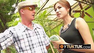 Thailand sex tourist POV short time sex