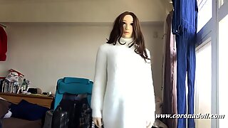 24Hrs challenge in rubber doll (kigurumi)