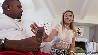 Nyomi Star First BBC Anal