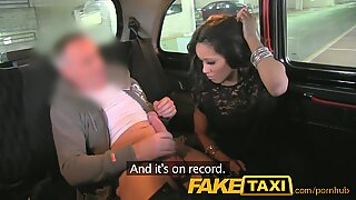 FakeTaxi puny youthful thief pays for her crime