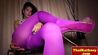 Glam bangsa thailand lelaki gaya perempuan menggoda sangat berahi