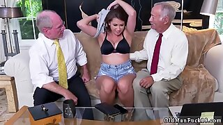 And british old young Ivy impresses with her meaty bra-stuffers and ass - Ivy Young