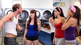 Mature strapon orgy xxx Laundry Day