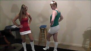 #4 Monroe vs Savannah Two is a Crowd Scripted Wrestling!