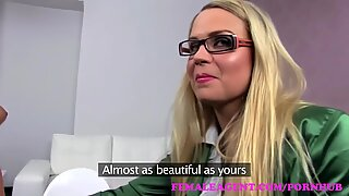 FemaleAgent. fresh gorgeous cougar agent ready to deceive and devour