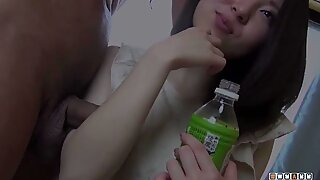 asian teenage honey Eats Cock Instead of Her Favourite Food Today