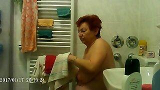 Granny getting ready